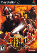 Firefighter F.D. 18 PlayStation 2 Front Cover
