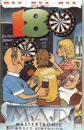 Pub Darts MSX Front Cover