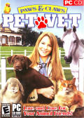 Paws & Claws: Pet Vet Windows Front Cover