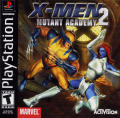 X-Men: Mutant Academy 2 PlayStation Front Cover