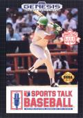 Sports Talk Baseball Genesis Front Cover