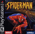 Spider-Man PlayStation Front Cover Also a manual