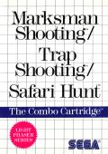 Marksman Shooting / Trap Shooting / Safari Hunt SEGA Master System Front Cover
