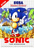 Sonic the Hedgehog SEGA Master System Front Cover