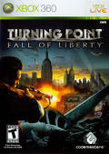 Turning Point: Fall of Liberty Xbox 360 Front Cover