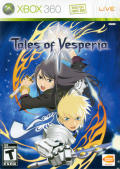 Tales of Vesperia Xbox 360 Front Cover