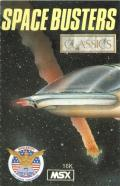 Space Busters MSX Front Cover