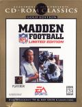 Madden NFL Football: Limited Edition DOS Front Cover