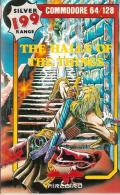 Halls of the Things Commodore 64 Front Cover