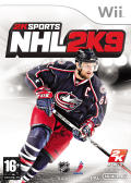 NHL 2K9 Wii Front Cover