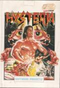 Hysteria Commodore 64 Front Cover