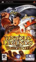 Untold Legends: The Warrior's Code PSP Front Cover