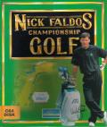 Nick Faldo's Championship Golf Commodore 64 Front Cover