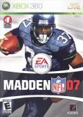 Madden NFL 07 Xbox 360 Front Cover