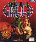 In Pursuit of Greed DOS Front Cover