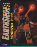 Metaltech: EarthSiege Speech Pack DOS Front Cover