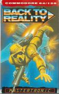 Back to Reality Commodore 64 Front Cover