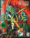 Rex Blade: The Battle Begins DOS Front Cover