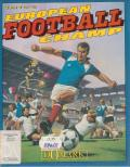 European Football Champ Commodore 64 Front Cover