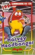 Harvey Headbanger Commodore 64 Front Cover