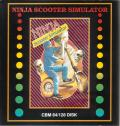 Ninja Scooter Simulator Commodore 64 Front Cover