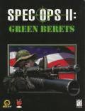 Spec Ops II: Green Berets Windows Front Cover