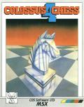 Colossus Chess 4 MSX Front Cover