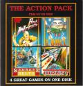 The Action Pack Commodore 64 Front Cover