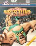Championship Wrestling Commodore 64 Front Cover