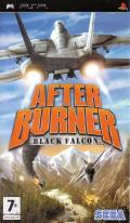 After Burner: Black Falcon PSP Front Cover