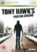 Tony Hawk's Proving Ground Xbox 360 Front Cover