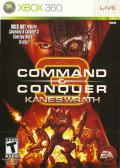 Command & Conquer 3: Kane's Wrath Xbox 360 Front Cover