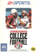 Bill Walsh College Football  Genesis Front Cover