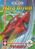 Hard Drivin' Genesis Front Cover