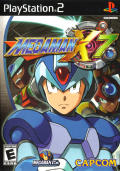 Mega Man X7 PlayStation 2 Front Cover