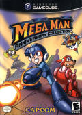 Mega Man: Anniversary Collection GameCube Front Cover