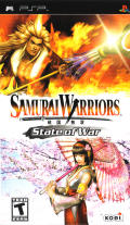 Samurai Warriors: State of War PSP Front Cover