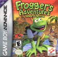Frogger's Adventures: Temple of the Frog Game Boy Advance Front Cover