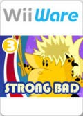 Strong Bad's Cool Game for Attractive People: Episode 3 - Baddest of the Bands Wii Front Cover