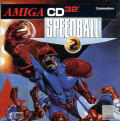 Speedball 2: Brutal Deluxe Amiga CD32 Front Cover