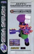 Johnny Bazookatone SEGA Saturn Front Cover