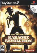 CMT Presents: Karaoke Revolution Country PlayStation 2 Front Cover