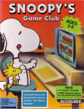 Snoopy's Game Club DOS Front Cover