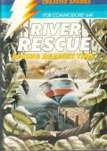 River Rescue: Racing Against Time Commodore 64 Front Cover