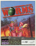 Worms Amiga CD32 Front Cover