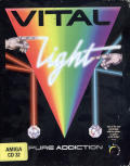 Vital Light Amiga CD32 Front Cover