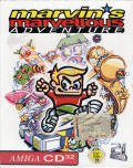 Marvin's Marvellous Adventure Amiga CD32 Front Cover