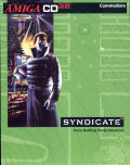 Syndicate Amiga CD32 Front Cover