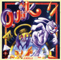Quik the Thunder Rabbit Amiga CD32 Front Cover