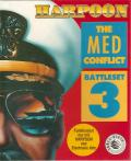 Harpoon Battleset 3: The MED Conflict DOS Front Cover